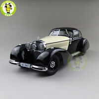 1/18 KK Scale Mercedes Benz 540K 1938 Diecast Model Car Boy Gifts Black White