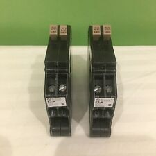 2 NEW CUTLER HAMMER CHT2020 1 POLE  20/20A 120V TANDEM CIRCUIT BREAKERS FREESHIP