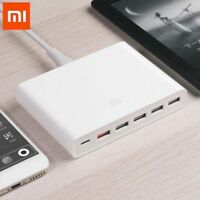 Xiaomi 6 Ports USB Type-C Charger QC 3.0 60W Fast Charging Station Power Adapter