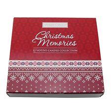 "Yankee Candle Geschenkset ""Christmas Memories"" 12 Sampler XMAS Weihnachten"