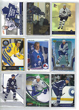 Lot of 73 Different Mats Sundin Hockey Card Collection Mint (includes RC)
