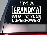 I'm a grandma sticker decal *E179* grandmother g ma family love church