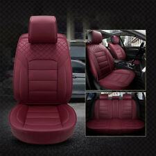 Wine Red Full Set Car Seat Covers Ford Falcon Focus Fiesta Escape Ranger Mondeo