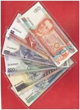 PHILIPPINES 20 50 100 200 500 1000 peso NDS Solid  Banknote 6 pcs 444444 UNC