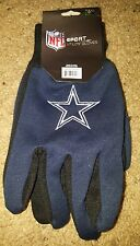 DALLAS COWBOYS NFL ADULT NAVY UTILITY ALL PURPOSE GLOVES NWT