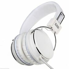 LMS Data Stereo Headset Surround Sound LMH-733MV - White with Microphone