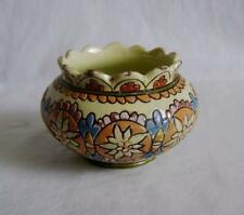 Antique Thoune Swiss Pottery bowl: 9.5 cm  Slip Decorated Earthenware