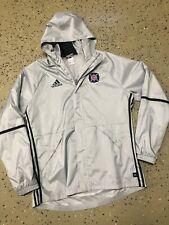 Vintage MLS Chicago Fire Adidas Full Zip Sideline Soccer Warm Up Jacket Size L