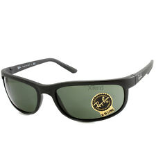 Ray Ban RB2027 W1847 Predator 2 Matte Black/Green Sunglasses