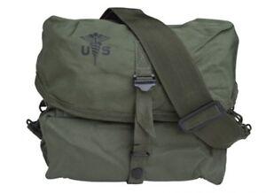 US Army Medical Kit Medic Bag Pack Bag Combat Pack Army Bag Marines Vietnam