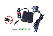 45W AC Adapter Charger Cord For Lenovo ThinkPad X1 tablet Yoga5 pro Type-C USB-C