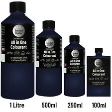 All In One DARK BLUE Leather Colourant. / For Restoration & Re-Colouring