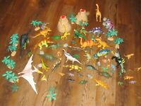 Lot of 84 Dinosaurs dinosaur Toys  Collectibles All Size & All Type