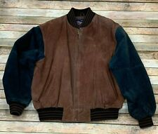 Vintage Varsity Princeton NJ Suede Leather Men's Jacket XL