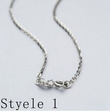 Real Classic 925 Sterling Silver Chain Necklace Solid Silver .925 Jewelry Italy 20 Inches 50 Cm 1