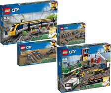 LEGO City 60198 60197 60205 60238 Güterzug Personenzug Weichen Schienen N9/18