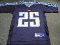 0bf17056 NEW Authentic Reebok NFL LenDale White Tennessee Titans Jersey Size ...