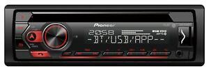 Pioneer DEH-S320BT CD/MP3-Autoradio mit Bluetooth AUX-IN USB - DEH S 320 BT