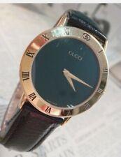 GUCCI unisex VINTAGE Swiss watch 35mm USED STUNNING