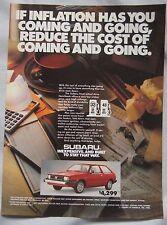 1980 Subaru Original advert