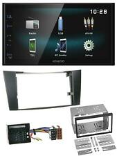 Kenwood AUX Bluetooth USB MP3 2DIN Autoradio für Mercedes E-Klasse W211 02-09