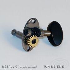 Schertler CHITARRA sintonizzatori MACCHINA teste METALLICA finitura Luthier EBONY Peg