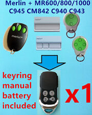 Merlin+ MR600 MR800 MR850 MR1000 C945 CM842 C940 C943  Garage Door Remote