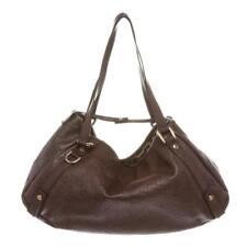 Gucci Burgundy Leather Guccissima Abbey Medium Tote Bag Lot 163