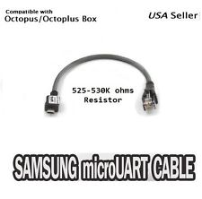 OCTOPLUS MICRO UART CABLE C3300K 530K OHM RESISTOR UNLOCK FLASH REPAIR SAMSUNG