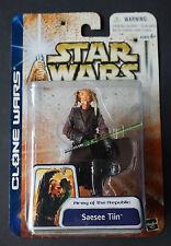 "Saesee Tiin / Star Wars / Clone Wars / Hasbro / 3.75"" Action Figure"