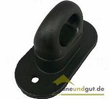 22 x Drehverschluss für Ovalösen, schwarz Kunststoff Anhänger Plane Ovalöse