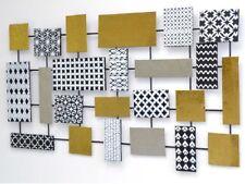 Wanddeko Metall/Holz Wandbild Wandschmuck Wanddekoration Bild Deko Bilder