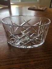 Royal Brierley Crystal Oval Candy Dish/ Bud Vase Tableware