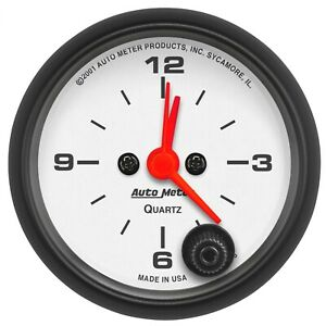 "Auto Meter 2-1/16"" Water Temp 100-250 °F Air-Core Electric Hoonigan #4337-09000"