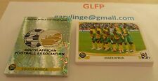 Panini World Cup 2010 stickers all 32 foil badges + 32 team groups MINT