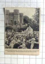 1936 Arrival Of Carnival Queen At Kenilworth Aid Warnefoed Hospital