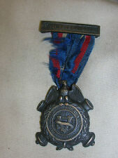 1921 Sons of Veterans Civil War Reunion Medal Ribbon Pin FILII VETERANORUM