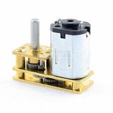 3V/6V/12V DC Micro U-Typ Inversion Speed Reduction Gear Box Motor N20 15-4000RPM