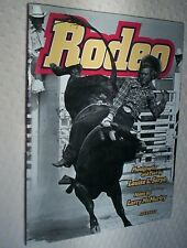 New listing Rodeo, photographer Louisa Serpa with text, notes by Larry McMurtry, 1st edition