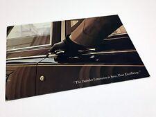 1970 Daimler Limousine DS420 Brochure
