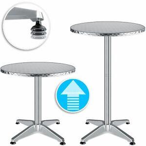 KESSER® Stehtisch Bistrotisch 2in1 höhenverstellbar Bartisch Gartentisch Tisch