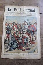 Petit journal dibujada Nº944 1908 MDL Ben Daoud Combate Gregg Eventos Haití