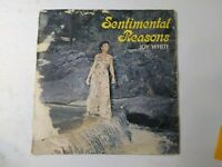 Joy White-Sentimental Reasons Vinyl LP 1978 ROOTS REGGAE