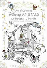 Art of Coloring: Disney Animals: 100 Images to Inspire Creativity and-ExLibrary