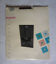 PRINCIPLES LIMITED EDITION STOCKINGS  - ONE SIZE - BLACK - NEW IN PACKAGING