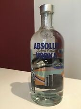 Absolut Vodka Blank Limited Edition - Mario Wagner Collaboration - New & Sealed