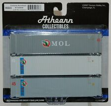 Athearn 45' containers - MOL