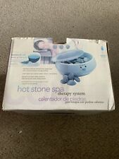Conair Heated Stone Spa Therapy System Kit Model HR10 Body Benefits Massage Oil