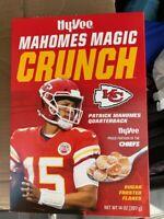 Patrick Mahomes Magic Crunch Cereal LIMITED COLLECTORS Box NEW Mint Pristine