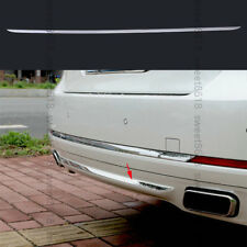 Stainless Rear bumper bottom cover trim Moulding For BMW 7 Series F01 F02 09-15